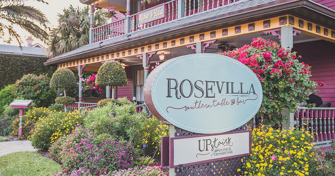 Rose Villa Brunch Menu